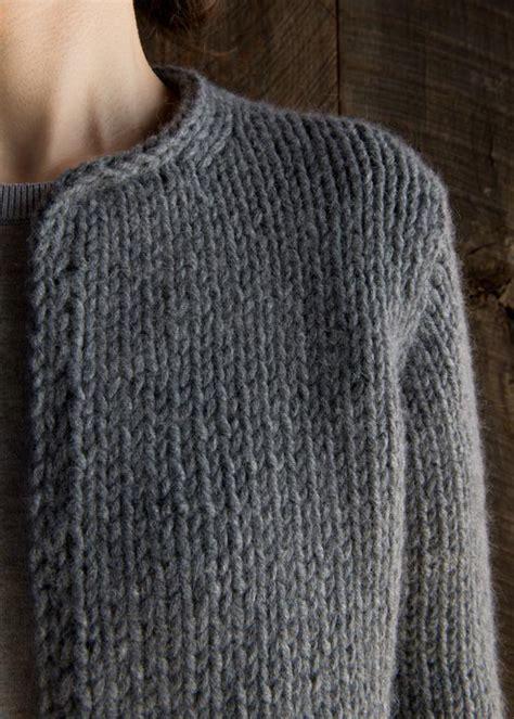 purl knitting soho classic knit jacket purl soho