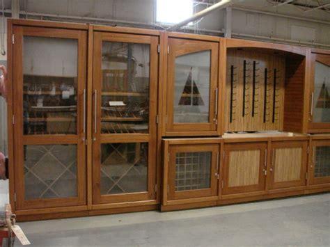 vigilant woodworks vigilant provides custom wine cabinets for martingale wharf