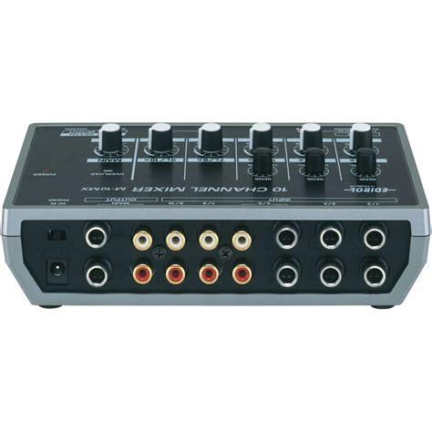 Mixer Edirol edirol m 10mx digital mixer