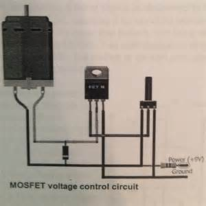 mosfet of an electric motor engineering 44