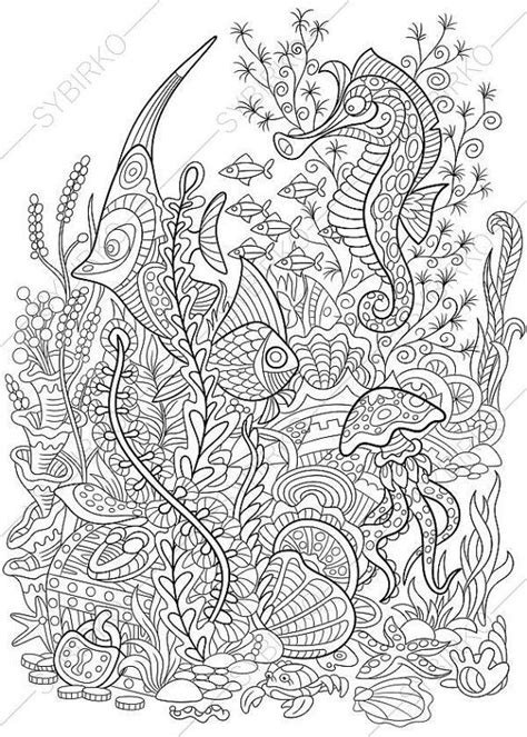 advanced ocean coloring pages 94 coloring pages underwater realistic underwater