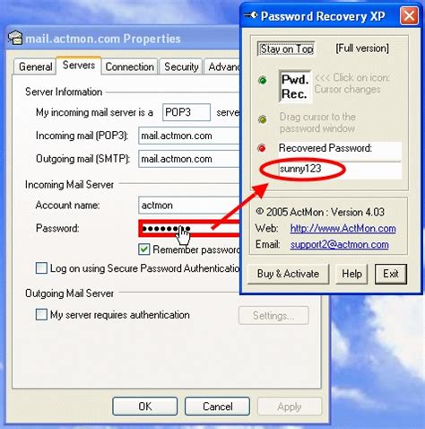 windows password reset deluxe filegets aaron password recovery xp screenshot recover