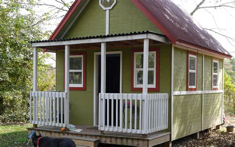 tiny home square footage 192 square foot home for two small house living tour in