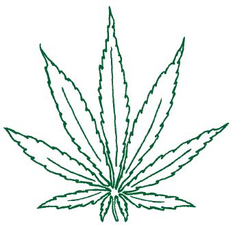 pot leaf template marijuana t r e e