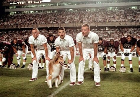 A Place Mimms Lyrics Aggie Yell Leaders In The Stance With Reveille The School S Mascot