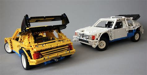 peugeot lego lego technic peugeot 205 turbo b the lego car