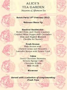 On pinterest english roses tea party menu and english tea parties