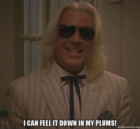 I Feel It Meme - i can feel it down in my plums make a meme