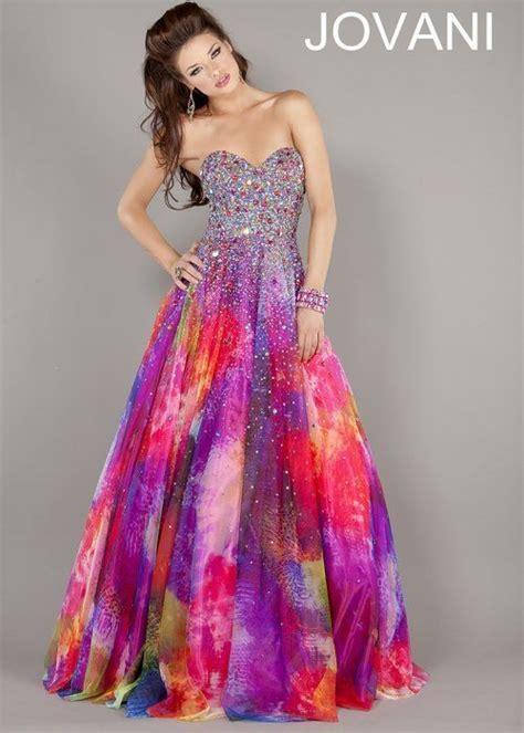 colorful prom dresses colorful prom dress so pram