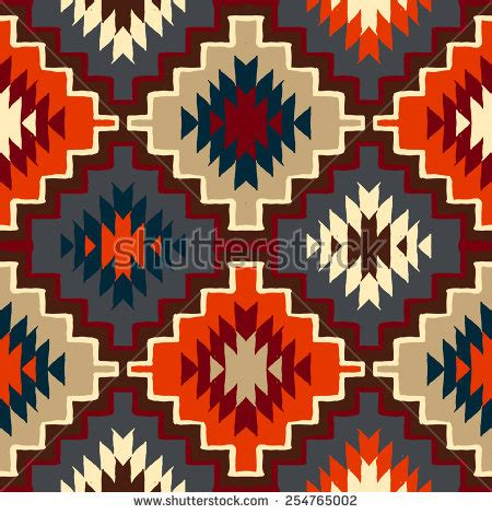 patterned colored of the indian inca print stock images royalty free images vectors