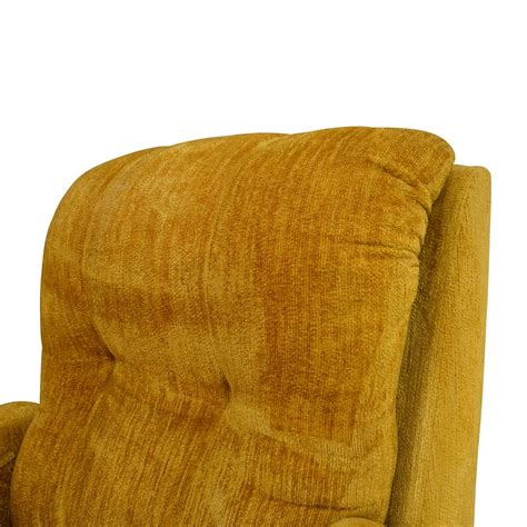 yellow recliner chair 75 unknown brand yellow recliner chair chairs