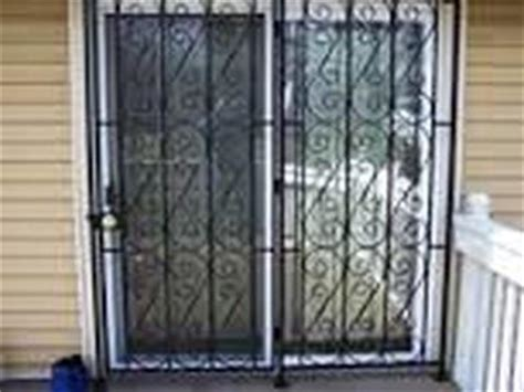 Patio Door Guard Patio Door Guard 201 855 6257 Windows Bars Newark Nj 07101