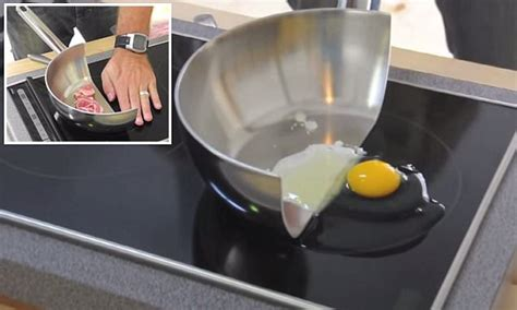 cooking with the strange electromagnetic power of an induction hob daily mail