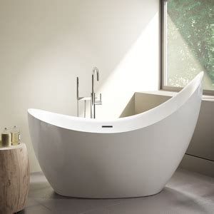 aria bathtubs crescent petite 66 5 8 quot x 31 1 2 quot x 30 quot bath and taps