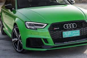 audi rs seven 2017 audi rs 3 drive review