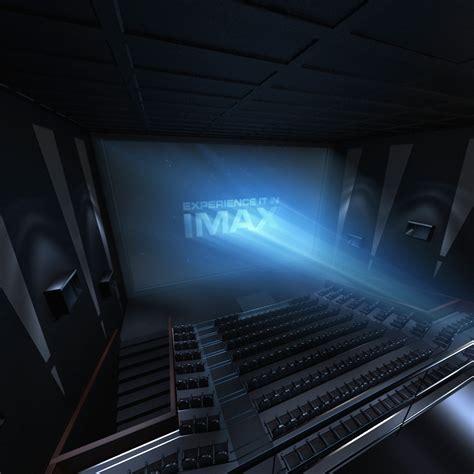 cineplex imax 3d imax theatre interior model