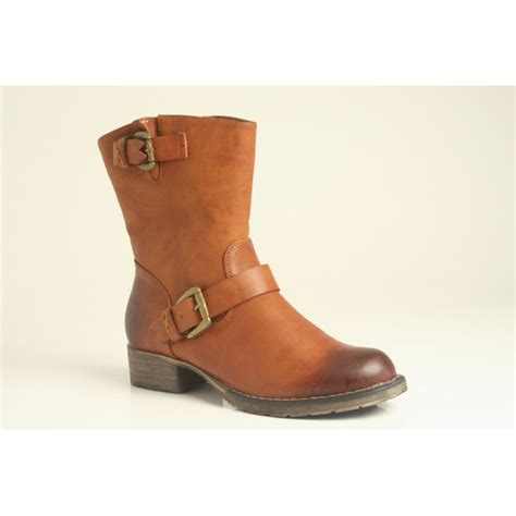 rugged ankle boots rieker rugged yet lightweight ankle boot with buckle detail in with warm fleece lining