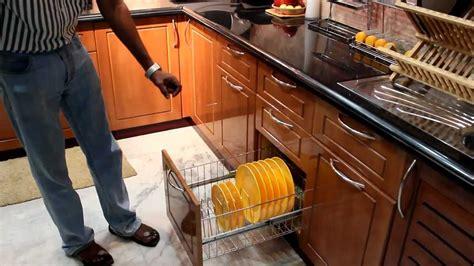 Hettich Kitchen Designs by Modular Kitchen Indian Context Accessories Youtube