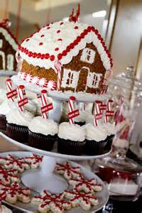 christmas gingerbread dessert table best friends for