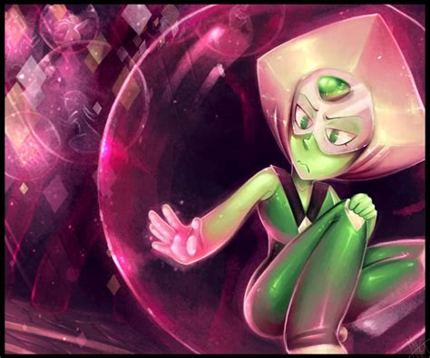 haha sooooo this is obviously in reference to the newest episode xd bubbled peridot steven universe by walkingmelonsaaa on