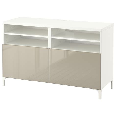 white gloss tv bench best 197 tv bench with doors white selsviken high gloss beige