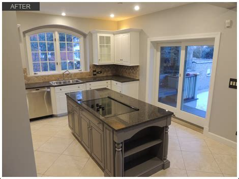 Kitchen Cabinet Painting Chicago Cabinet Refinishing Edgewater Chicago Il
