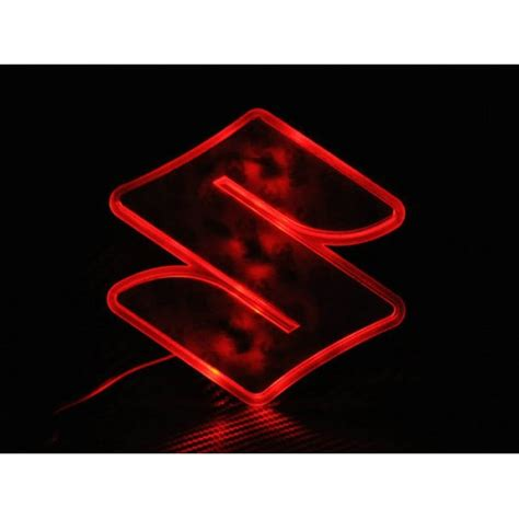 suzuki emblem led decal logo light emblem for suzuki sx4 sx4