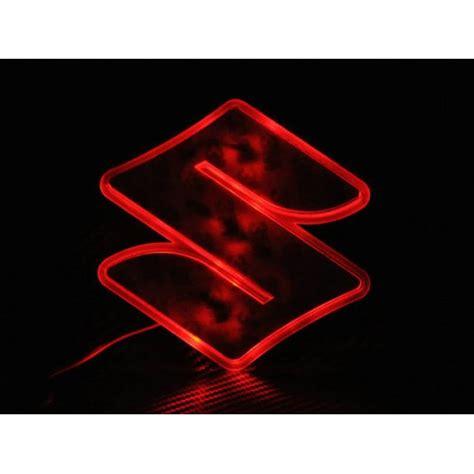 suzuki emblem led decal logo light emblem for suzuki sx4 sx4