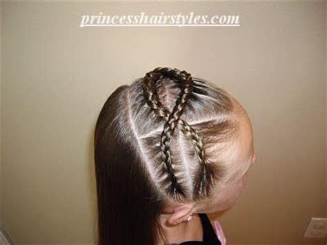 princess hairstyles braided headband with jewels braided twisty headband hairstyles for girls princess