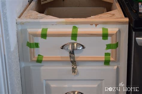 Add Drawers To Kitchen Cabinets by Easy And Inexpensive Cabinet Updates Adding Trim To
