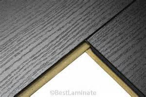 Black Laminate Wood Flooring 8mm Ac4 Laminate Flooring Kronoswiss Black P214se