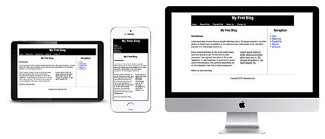 responsive layouts using css media queries css 3