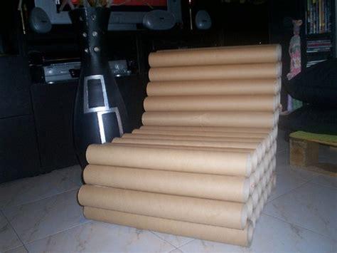 sofa reciclado sofa reciclado de rolos de cartao clarinanda