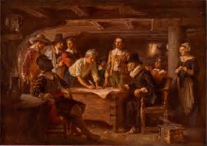 describe the first thanksgiving thanksgiving and pilgrim paintings and artwork