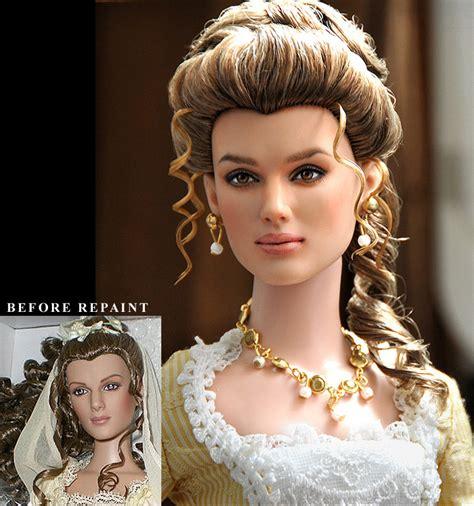 doll repaint repaint doll keira knightley by noeling on deviantart