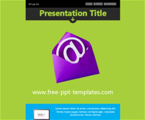 newsletter ppt template free powerpoint templates