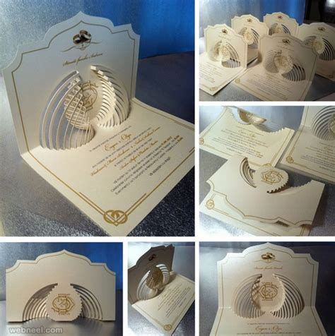 25 creative and wedding invitation card design ideas - Creative Wedding Invitation Cards