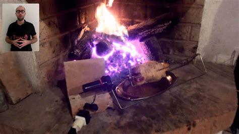 girarrosto da camino il girarrosto elettrico per fare arrosti nel tuo forno a
