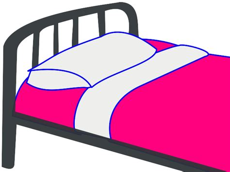 bed cartoon cartoon bed top view roole