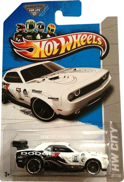 Hotwheels Dodge Challenger Car T Hunt dodge challenger drift car wheels 2013 treasure hunt hwtreasure