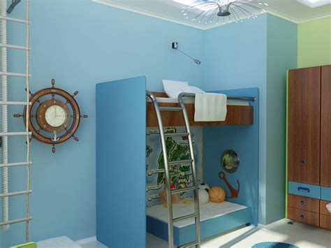 themed room ship room decor for boys colorful rooms