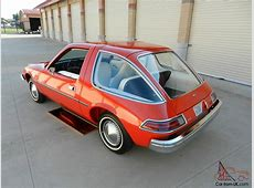 1975 AMC PACER NATIONAL CONCOURS WINNER PEBBLE BEACH ... Pacer Car