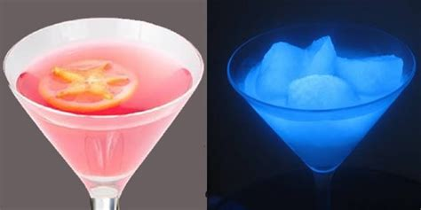 vodka tonic blacklight mix up cosmic cocktails with gin tonic and a black light