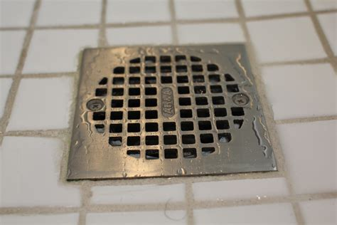 Bathroom Shower Drain How To Clean A Draining Shower A Concord Carpenter