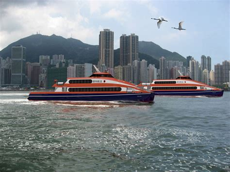 ferry xing peng xing orders two fast ferries from coco yachts