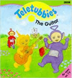 quot teletubbies quot guitar teletubbies 9780563405498 amazon books