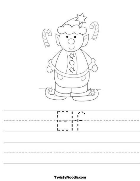 printable elf worksheets elf worksheet from twistynoodle com christmas pinterest