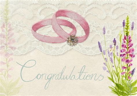 Wedding Ring Congratulations by Free Illustration Wedding Congratulations Invite Free