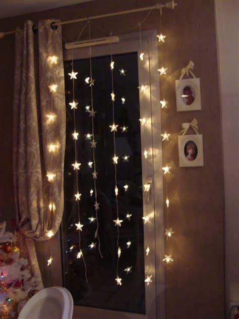 cortinas con luces luces cortinas navidad hoy lowcost