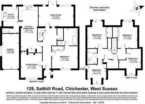 fishbourne palace floor plan 5 bedroom detached house for sale in salthill road fishbourne po19 po19